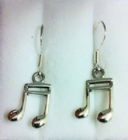 Sterling Silver semi-quaver earrings